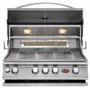 Cal Flame BBQ13874CP Built-In 4 Burner Convection Grill