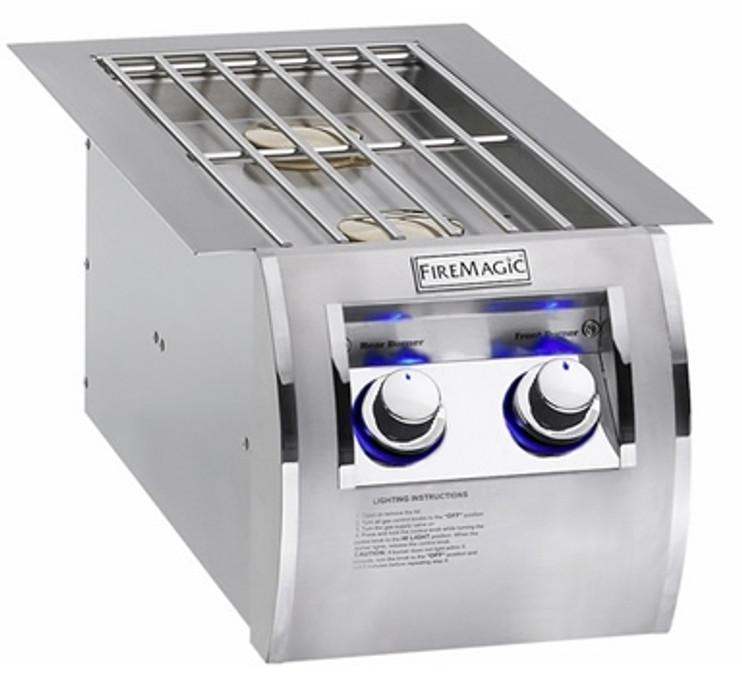 Fire Magic double side burner