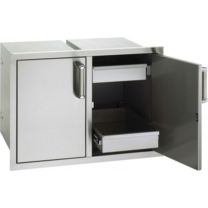 Fire Magic 20 x 30 Double Access Doors With Two Dual Drawers (53930S-22)
