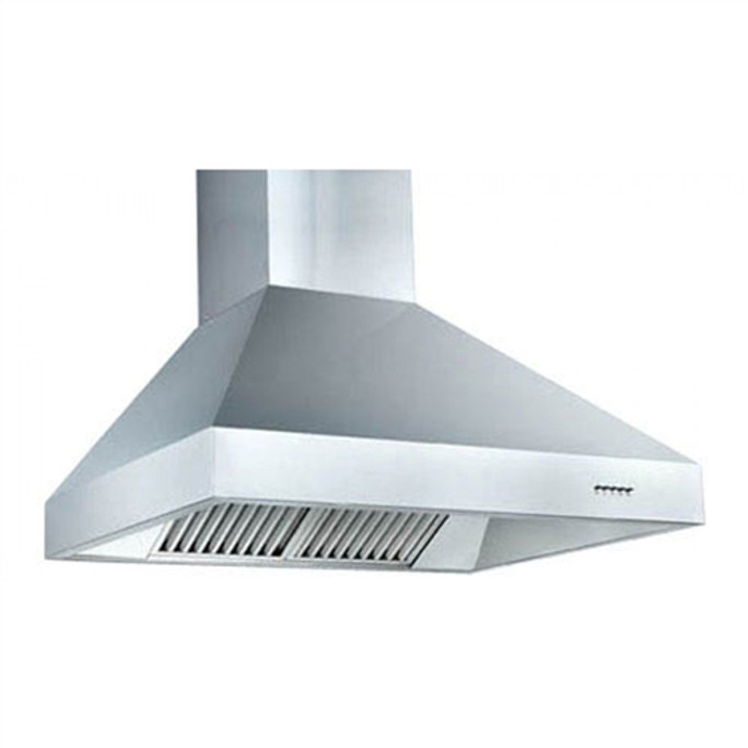 """60"""" Stainless Steel Outdoor Vent Hood-Wall Mount"""