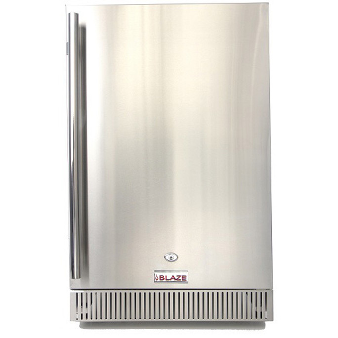 "Blaze Outdoor Rated Stainless 20"" Refrigerator 4.1 CU (BLZ-SSRF-40D"
