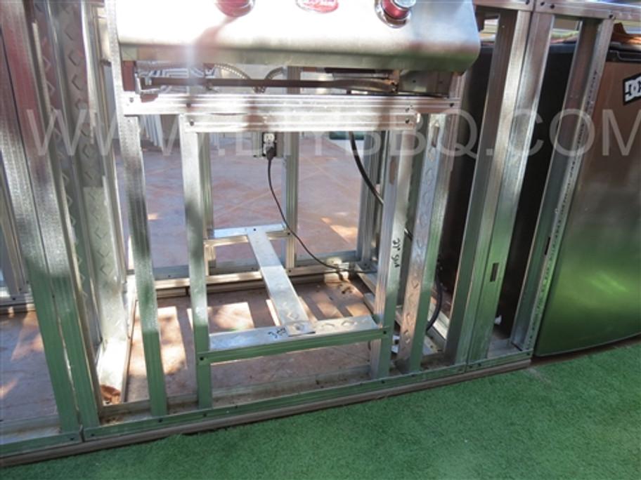 "DIY BBQ Single Door Cut Out Kit Vertical Up To 27"" (DIY-BBQ-SDV)"