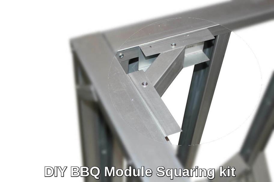 DIY BBQ Module Squaring Package