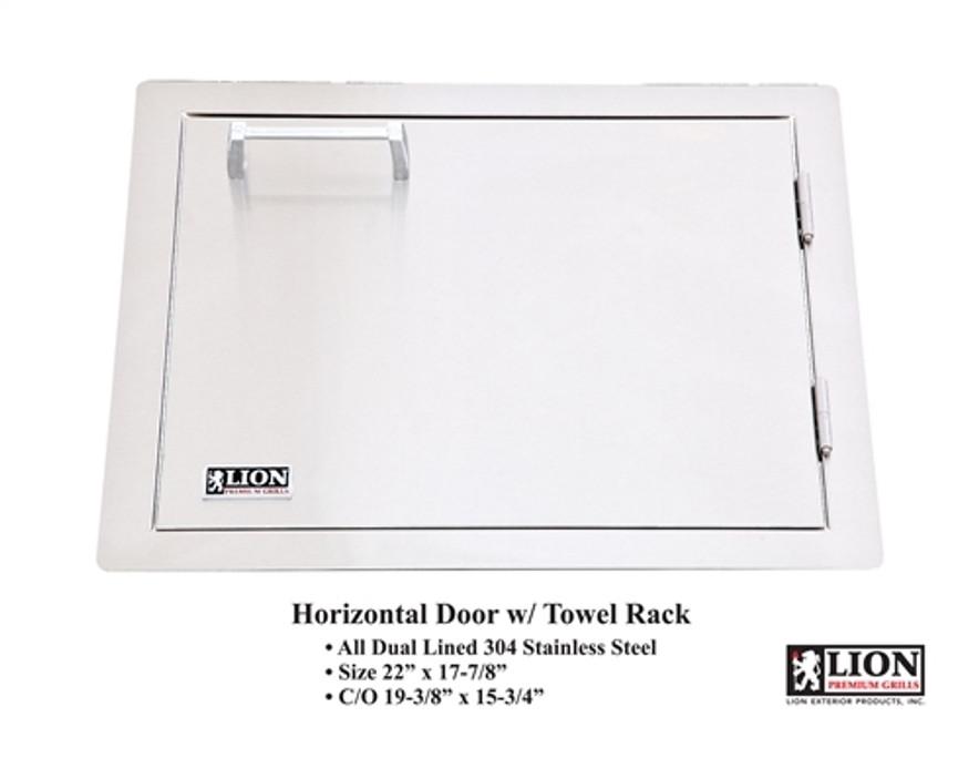 Lion Horizontal Doors with Towel Rack