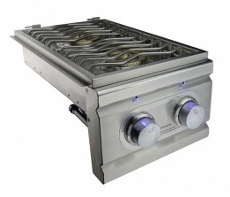 Rcs lighted double side burner