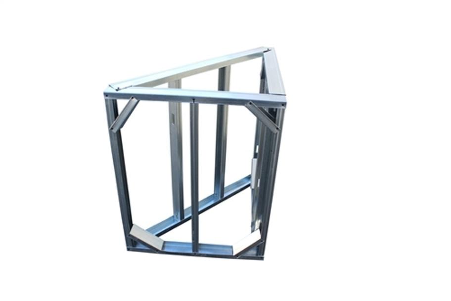 DIY BBQ Diagonal Modular Corner Section