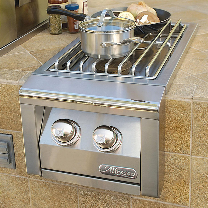 Alfresco Built-In Double Side Burner (AXESB-2)