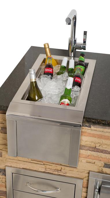 Alfresco 14-Inch Built-In Versa Sink (AGBC-14)