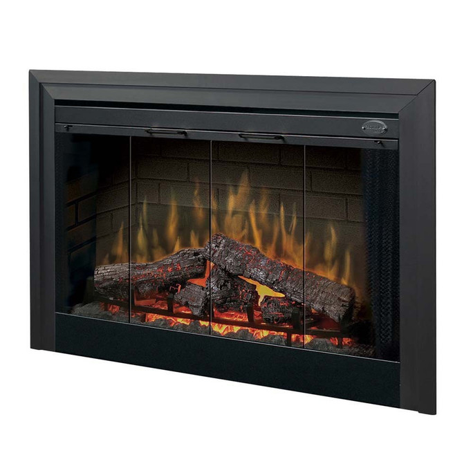 """Dimplex 45"""" Deluxe Built-in Electric Firebox Electric Fireplace"""