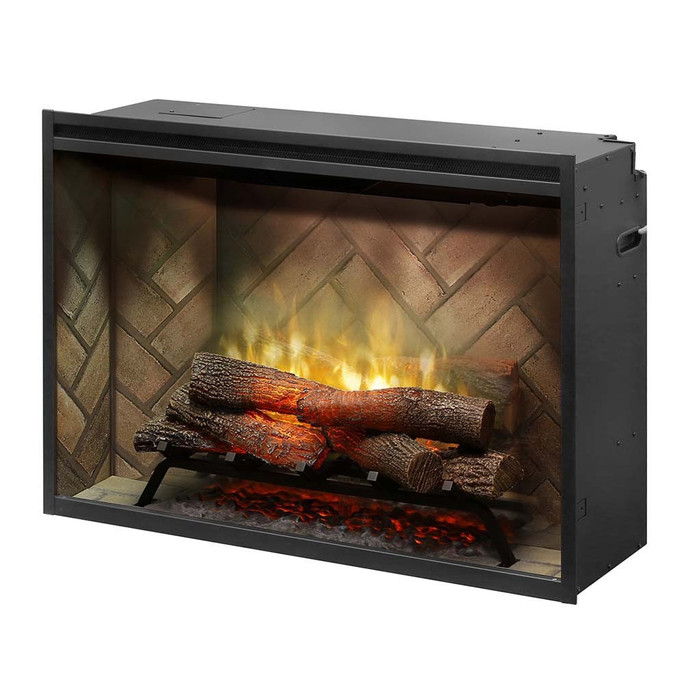 """Dimplex Revillusion™ 36"""" Built-in Firebox Electric Fireplace"""