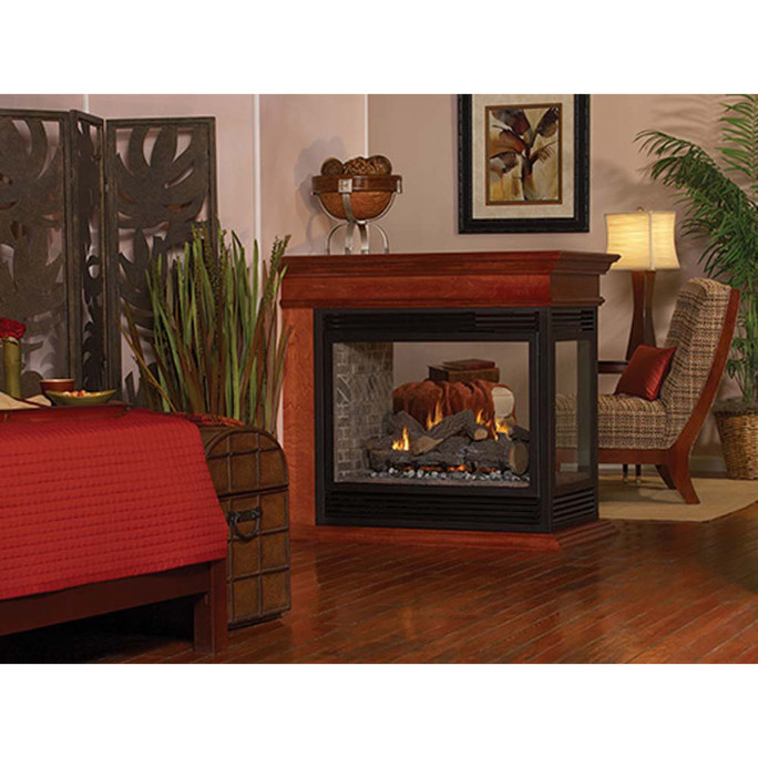 Empire Tahoe Multi-Sided Direct-Vent Fireplaces