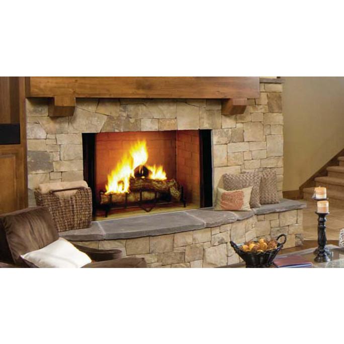 Majestic Biltmore Radiant Wood Burning Fireplace - 42 Inch