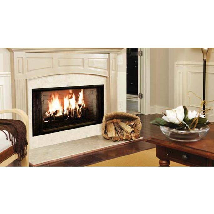 Majestic Royalton Radiant Wood Burning Fireplace - 42 Inch
