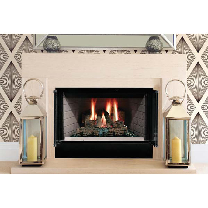 Majestic Sovereign Radiant Wood Burning Fireplace - 36 Inch