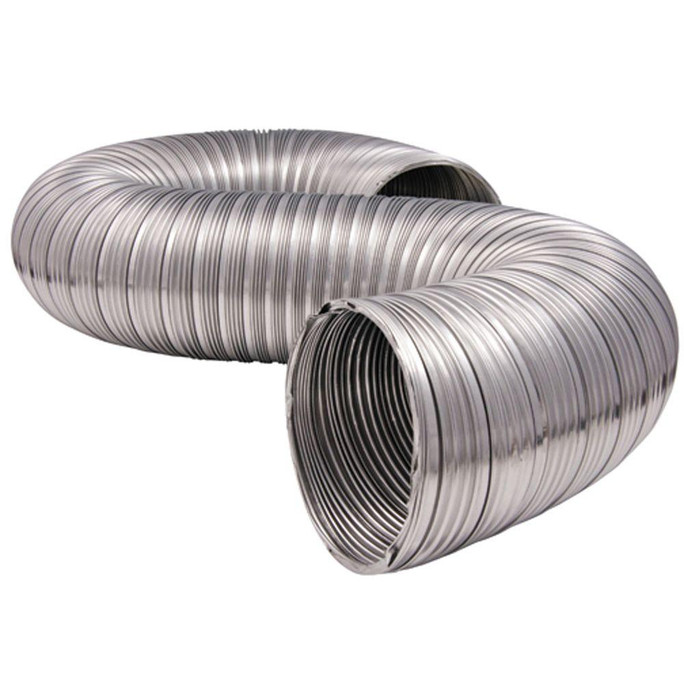 Majestic UD4 4 inch Uninsulated Two 42 inch Section Flex Duct Outside Air