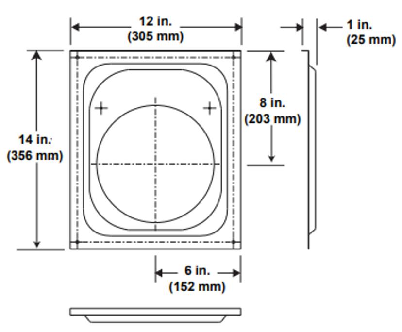Majestic DVP-WS Wall Firestop - 5 Inch Diameter