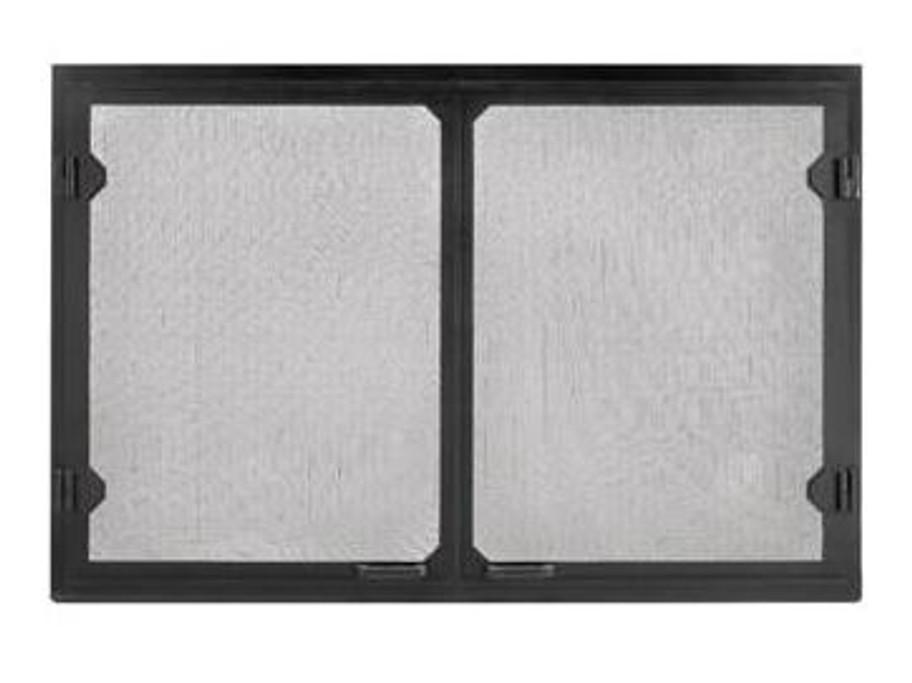Majestic Grand Vista Black Cabinet Style Mesh Doors-GV36BK