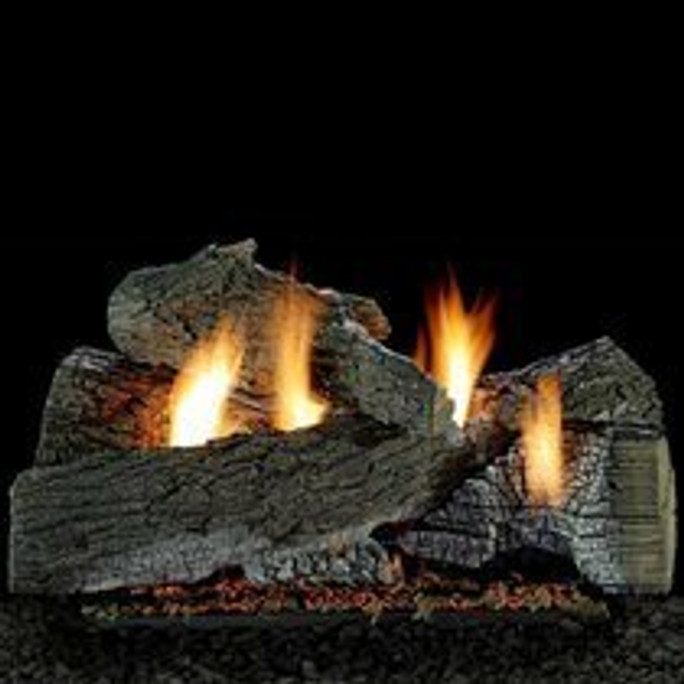 Empire Vent Free Wildwood Gas Log Set With Electronic Variable Remote