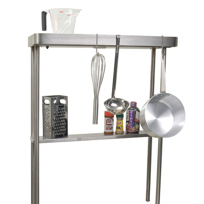 Alfresco High Shelf With Pot Rack And Light For AGBC-30