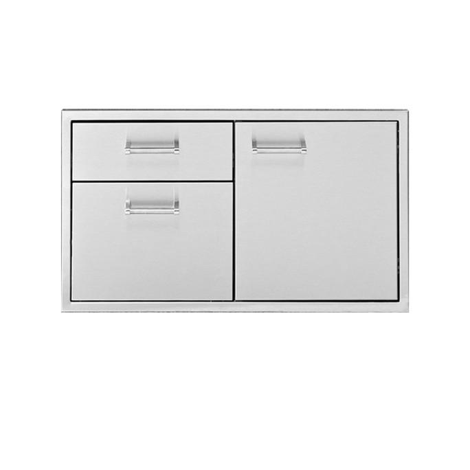 Delta Heat 36 inch Door 3-Drawer Combo
