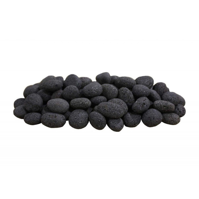 Firegear Black Lava Stones, 50 pounds