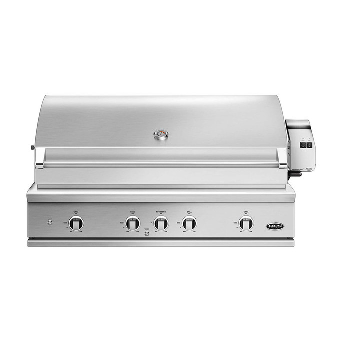 DCS 48 Inch Evolution Grill Rotisserie and Charcoal