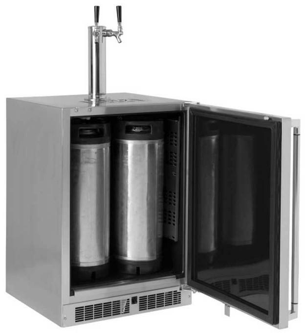 Lynx 24 Inch Refrigerator with Keg option