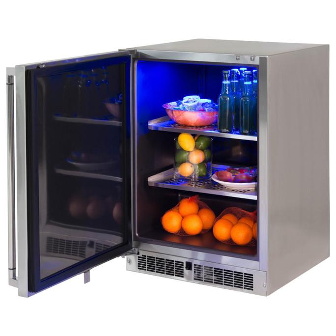 Lynx 24 Inch Outdoor Refrigerator, Left Hinge