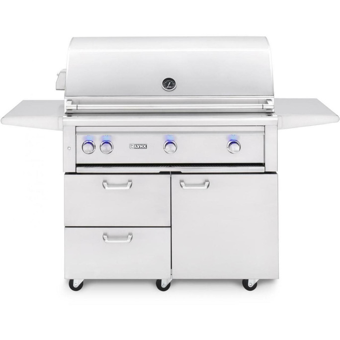 """Lynx 42"""" Freestanding Grills- All Trident with Rotisserie (L42ATRF)"""