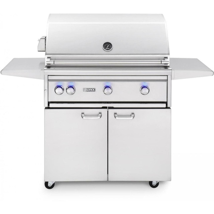 """Lynx 36"""" Freestanding Grills- All Trident with Rotisserie (L36ATRF)"""