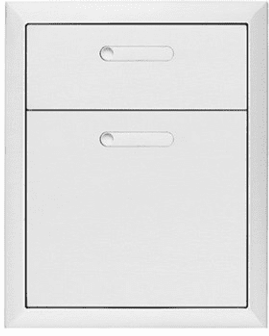 Lynx Ventana 19-Inch Double Drawers (LDW16-4)