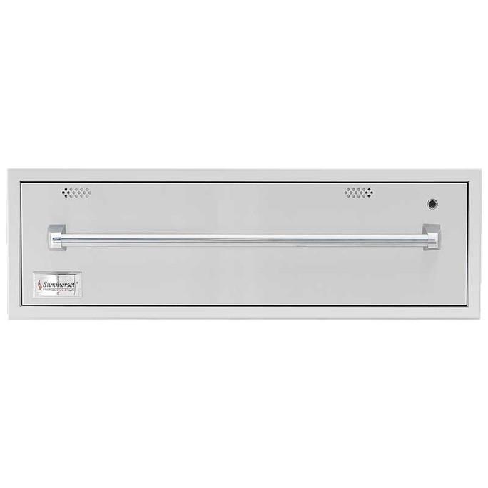 "SummerSet 36"" North American Stainless Steel Warming Drawer (SSWD-36)"