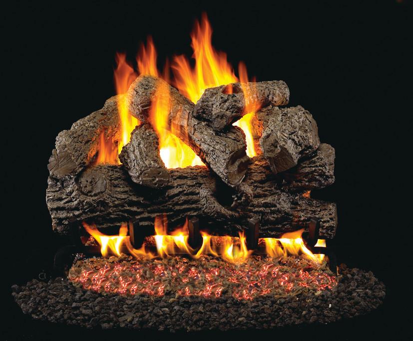 Real Fyre Royal English Vented Gas Logs (B-24), 24-Inch