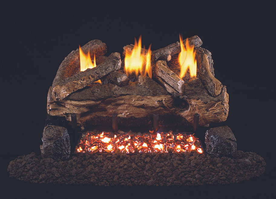 Real Fyre Evening Split Vent-Free Log Set (ESV-30), 30-Inch