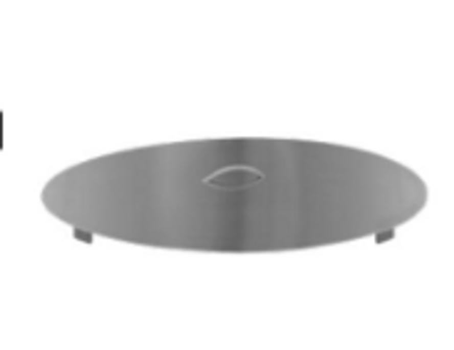 Firegear Stainless Steel Burner Cover, Round (LID-33R2)
