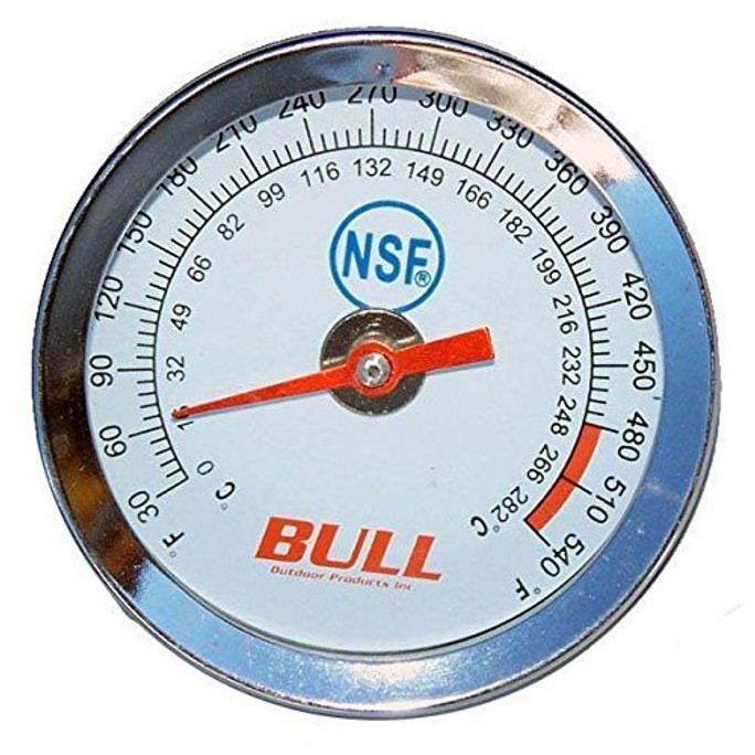 BBQ Grill Bull Temperature Gauge Fits Most Models 16509 OEM