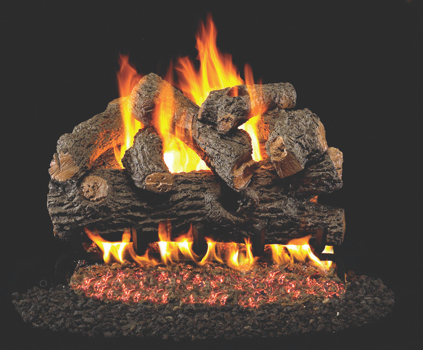Real Fyre Royal English Oak Designer Vented Gas Logs (BD-30), 30-Inch