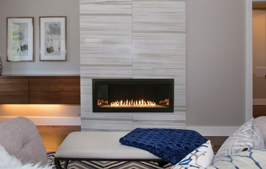 Empire Boulevard 36″ Vent-Free Linear Fireplace with Remote Control