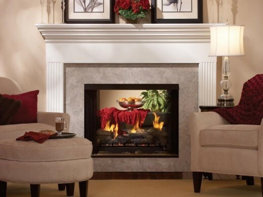 Breckenridge Vent-Free See-Through Firebox Premium 36