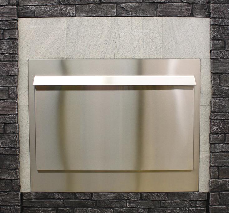 Empire 48-inch Stainless Steel Linear Weather Door