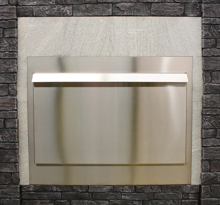 Empire 60-inch Stainless Steel Linear Weather Door