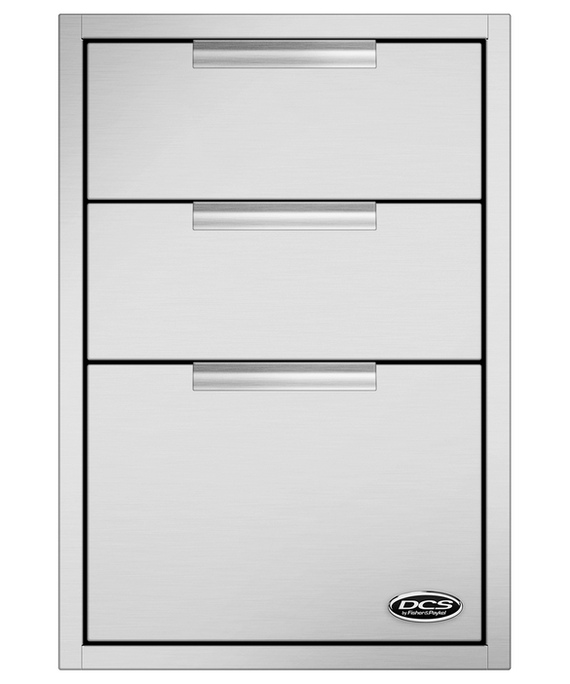 DCS 20-Inch Triple Tower Drawer