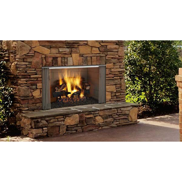 Majestic Villawood Outdoor Wood Burning Fireplace 36 Inch