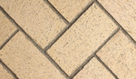 Full herringbone brick ivory