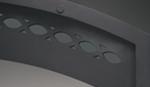 Smooth steel facade superior new