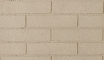 Split stacked brick white