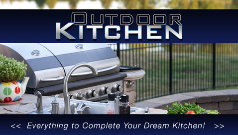 DIY BBQ: Gas grills and outdoor kitchen frame kits