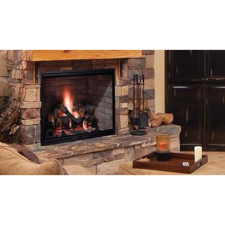 Majestic Biltmore Radiant Wood Burning Fireplace 36 Inch