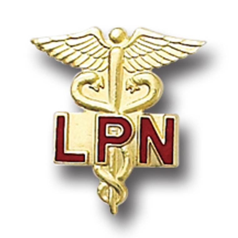 LPN Emblem Pin