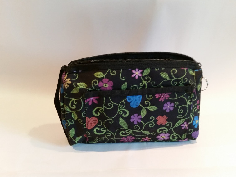 Floral Zippered Case 1